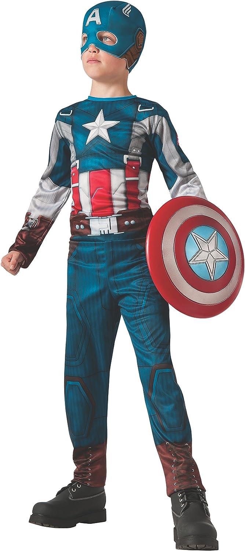 Disfraz de Capitán América retro: el Soldado de Invierno para niño ...