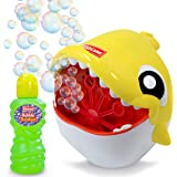 Kidzlane Bubble Machine – Shark Bubble Machine for Kids & Toddlers Outdoor – Automatic Bubble Maker for Outdoor Toy and…