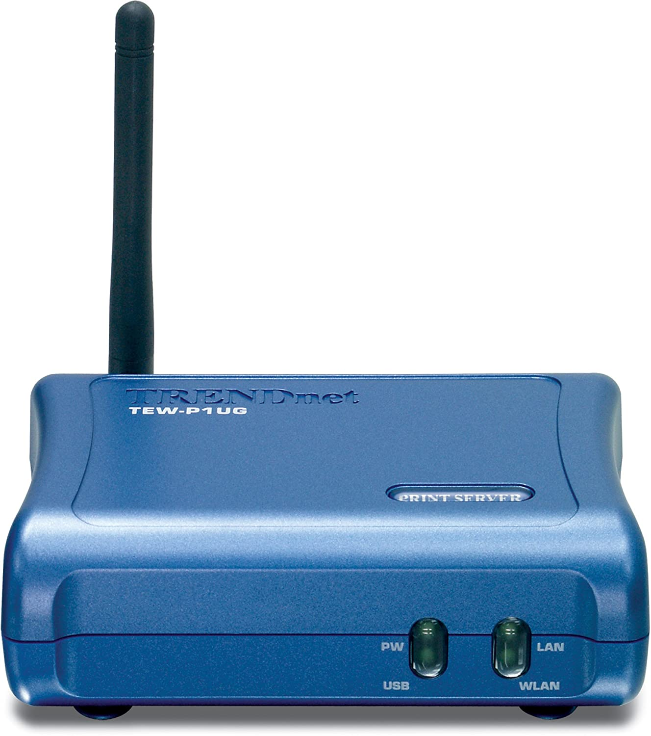 TRENDnet TEW-P1UG Wireless 1-Port USB Print Server: Amazon.co.uk ...
