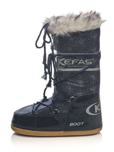 KEFAS - Botas de nieve mujer, color, talla 35