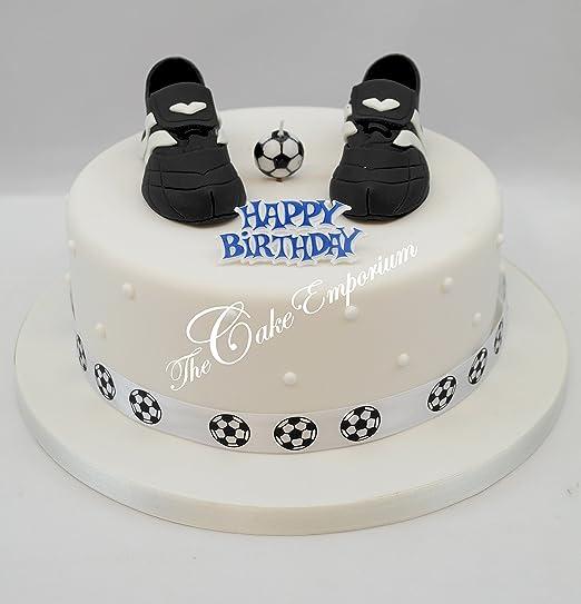 The Cake Emporium Ltd Vela de fútbol Botas de fútbol Fútbol ...