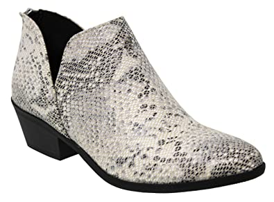 7f8f781aef30d MVE Shoes Womens Stylish Comfortable Closed Pointed Toe Ankle Booties
