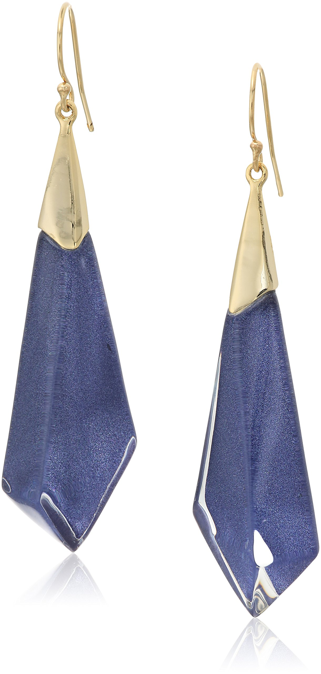 Alexis Bittar Fall 2017 Faceted Wire Drop Earrings