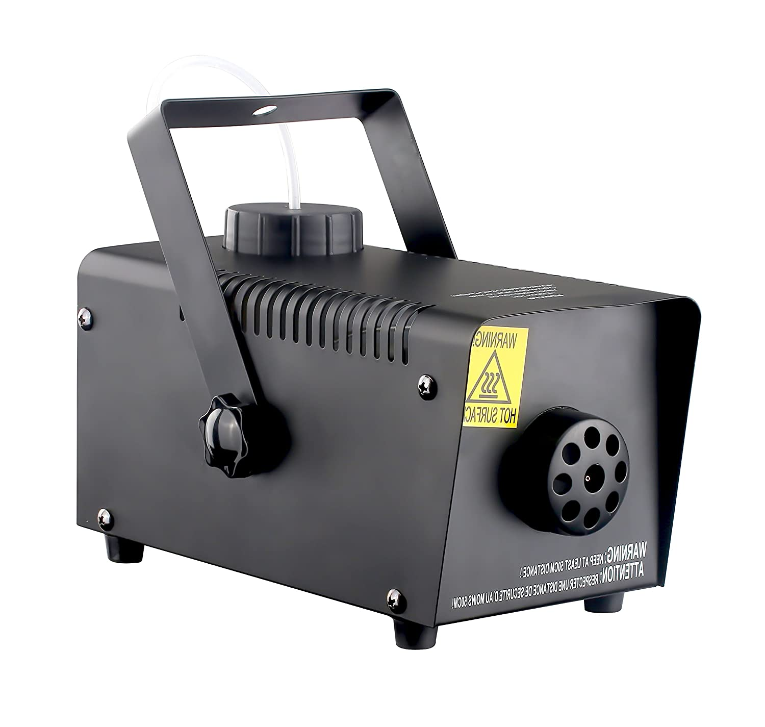 DragonX 400-Watts Portable Professional Water-Based Fog Machine with Wired Remote Controller Ground Fogger