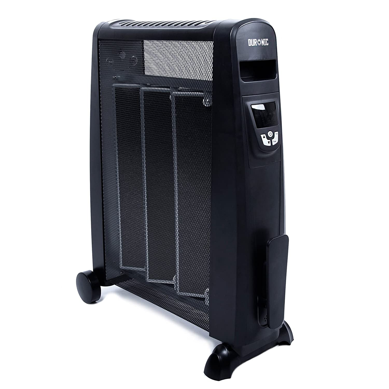 w/ärmt in 1 Minute auf Duronic HV052 W/ärmewellen Heizung//Heizger/ät//Heizer 1500 Watt mit Thermostat Mica Heizelement
