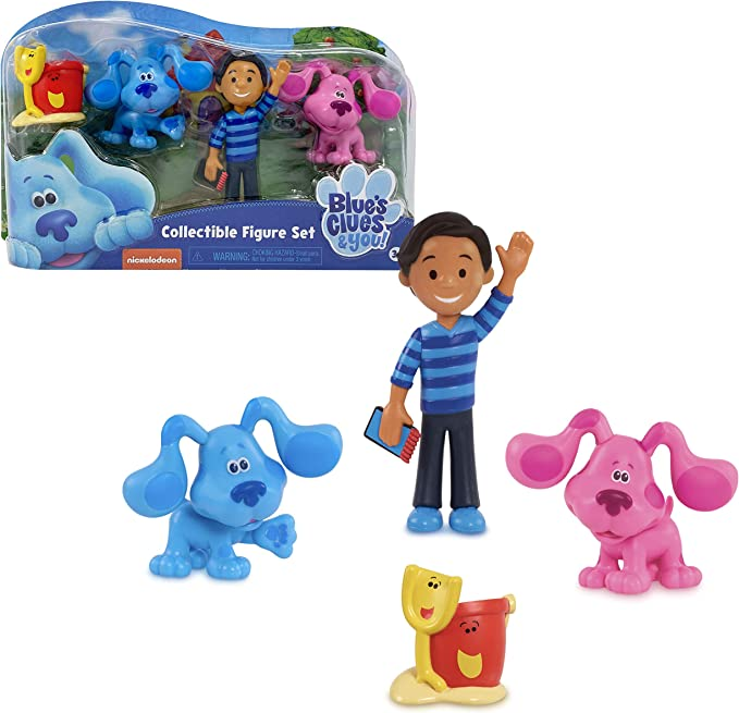 """Blue/'s Clues /& You Magenta Collectible Figure 2/"""" Factory Sealed"""
