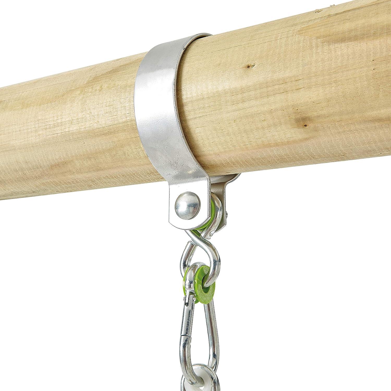 Green and Black 85 cm Diameter TP Toys 902 Nest Swing Seat