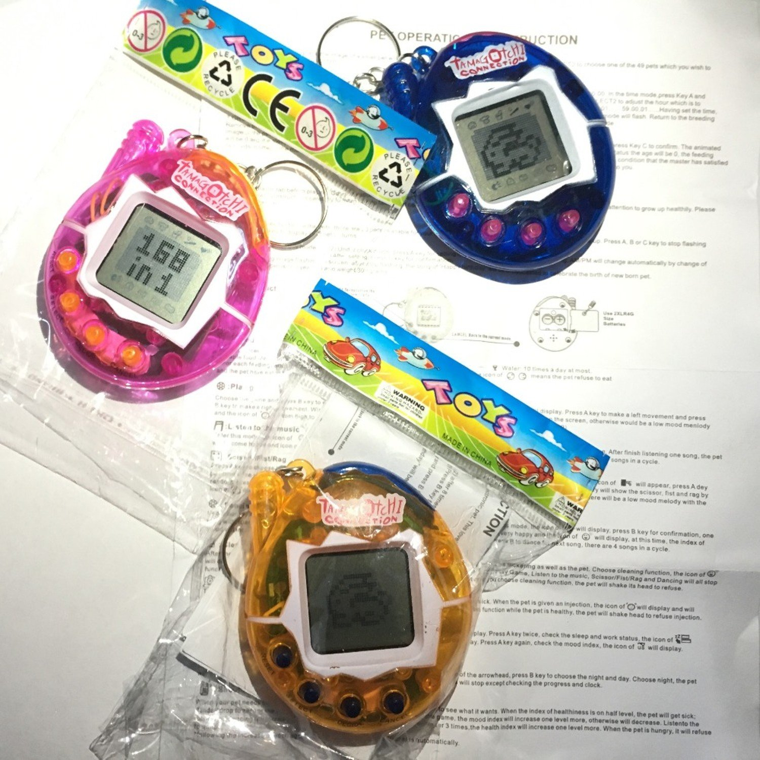 Funny Relaxing Tamagotchis Electronic Pets Toys 90S Nostalgic 49 Pets in 1 Virtual Cyber Tamagochi Pet Toy for kids