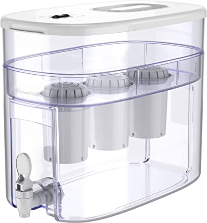 pH RECHARGE 3F - Sistema depurador e ionizador de mesa - Con filtro para alcalinizar agua - 12,5 l - Blanco - 3: Amazon.es: Hogar