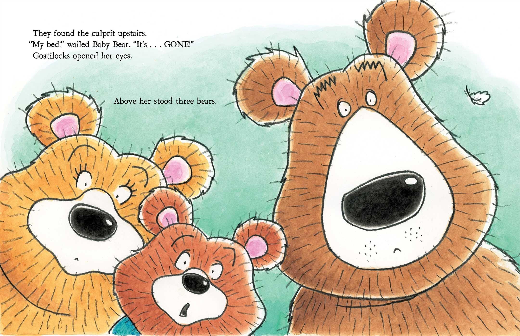 Uncategorized Threebears goatilocks and the three bears erica s perl arthur howard 9781442401686 amazon com books