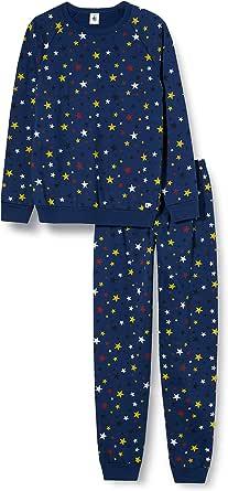 Pijama Infantil con diseño de Estrellas de muletón.