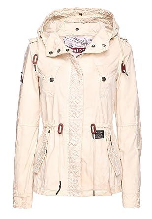 Khujo damen jacke irelia embroidered jacket