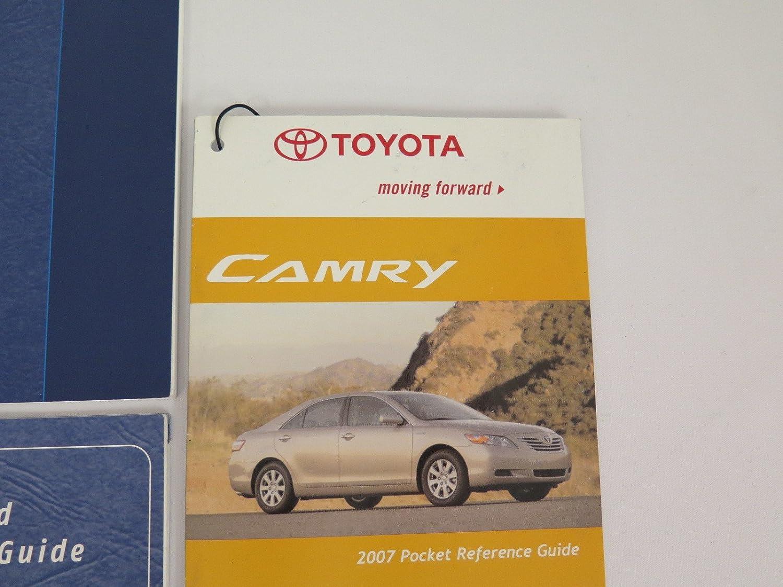 Amazon.com: 2007 Toyota Camry Owner's Manual: Toyota Motor Co.: Automotive