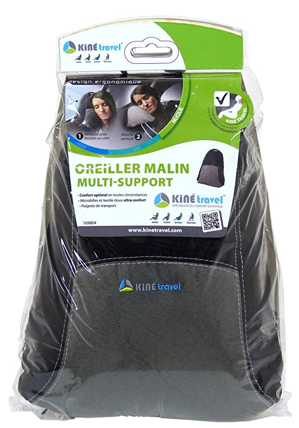Kine Travel 169804 Oreiller Malin Multi-Supports
