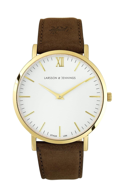 Larsson & Jennings Lugano Armbanduhr LJ-W-LBRN-GW