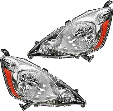 For 2009-2010 Honda FIT Sport Fog Light Lamp Assembly PAIR Left Right Side