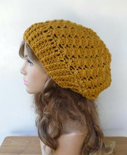 d187d526406 Amazon.com  Handmade Textured slouchy beanie available in 14 colors woman slouchy  hat custom crochet beanie  Handmade
