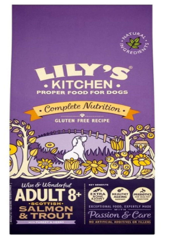 Lily's Kitchen SENIOR SALMON & TROUT DRY FOOD 7kg x2