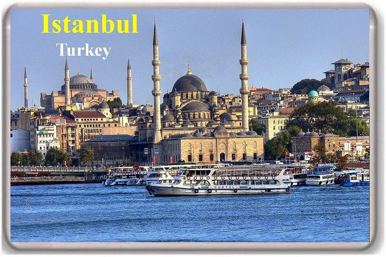 Istanbul Turkish fridge magnet.!!! Calamita da frigo