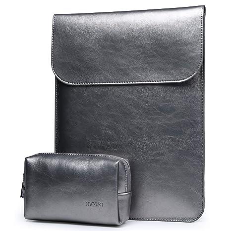 HYZUO 15 Pulgadas Funda Protectora Ordenador Portátil Impermeable Compatible con 15,4 Pulgadas Nueva MacBook