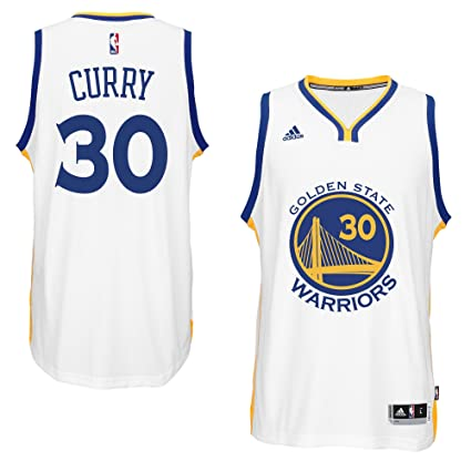 adidas Stephen Curry Men s White Golden State Warriors Swingman Jersey 3X- Large c9ff05df4