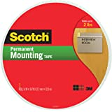 Scotch Indoor Mounting Tape, 3/4-inch x 38-yards, White, 1-Roll (110-MR)