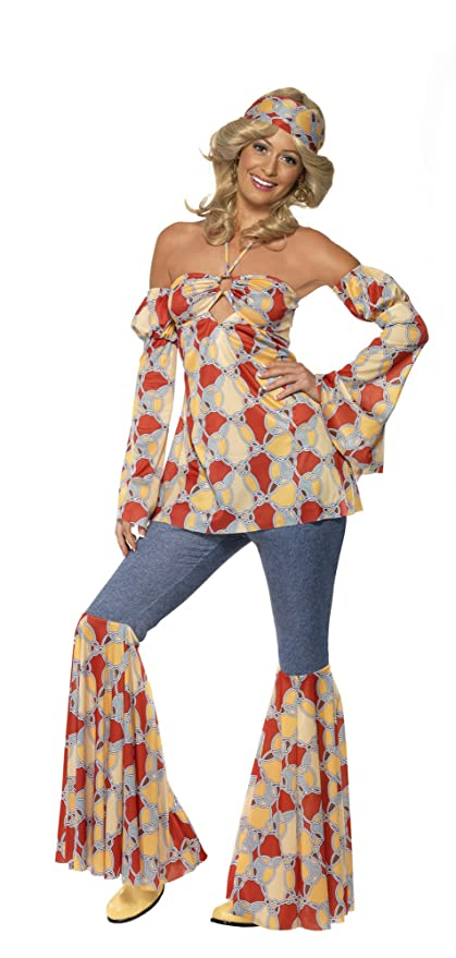 Amazon.com: Smiffys - Disfraz retro de los años 70: Clothing