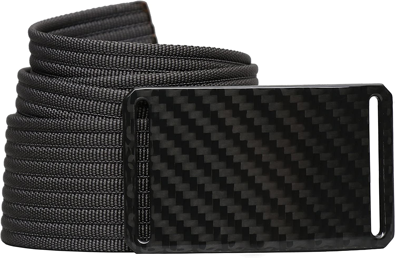 Carbon Fiber Belt GRIP6 Mens Belts 42in Dark Matter w//Grey Strap