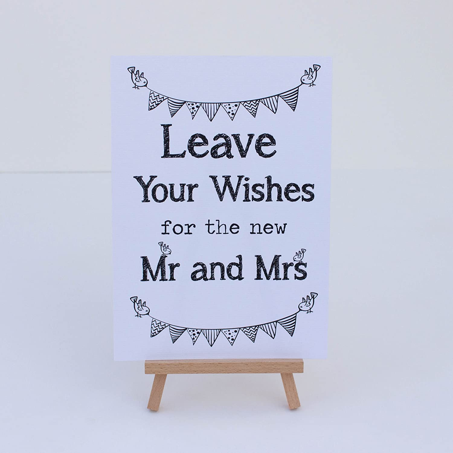 Amazon Com Wedding Card Box Guest Book White Sign Leave Your
