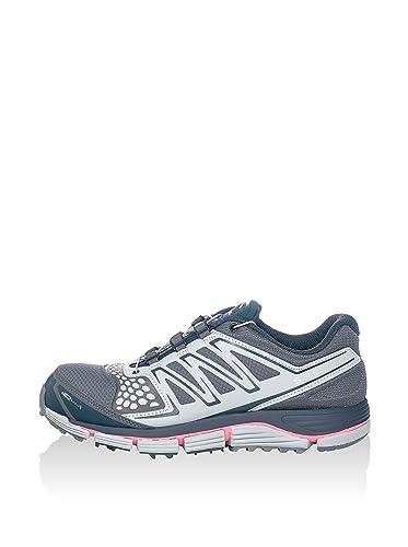 Salomon Damen Laufschuhe Trail Crossmax 2 CS (Wasserabweisend)   352322   Grau