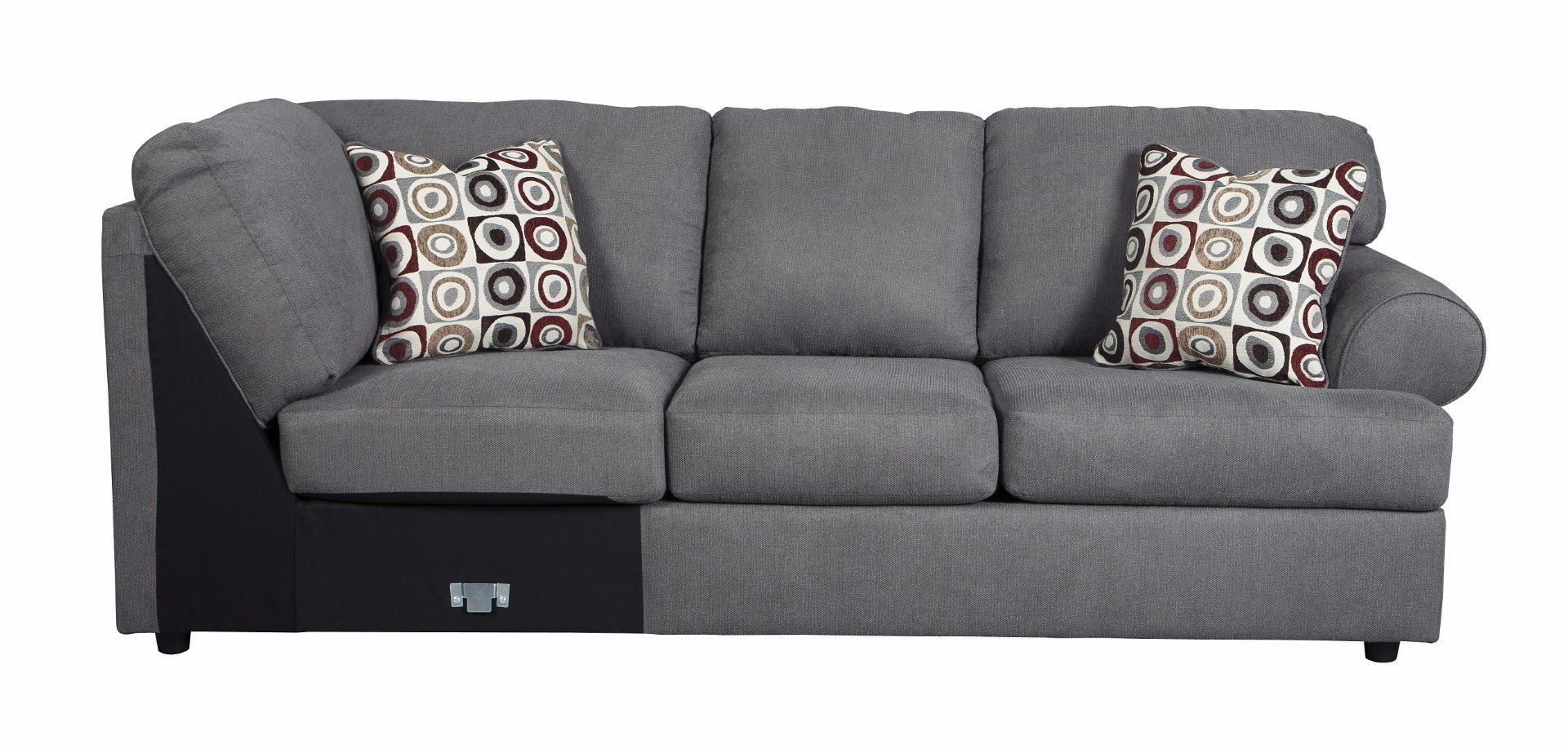 Ashley Furniture Signature Design - Jayceon Right Arm Facing Sofa - Contemporary Style Sectional - Gray by Signature Design by Ashley