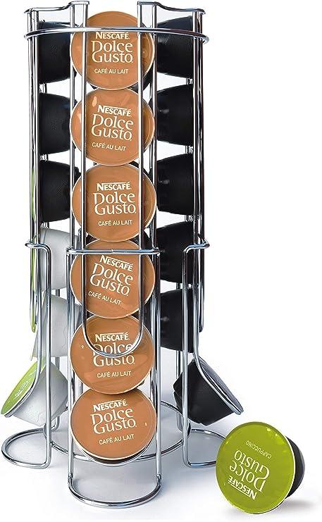 Maxxo Soporte de cápsulas de café Dolce Gusto (24 piezas) Dispensador Torre para repuestos para cafeteras Dolce Gusto: Amazon.es: Hogar