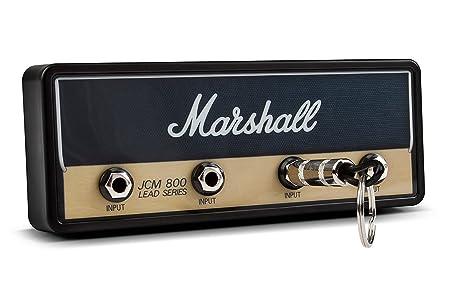 Pluginz Jack Rack Marshall Colgador de llaves con diseño de amplificador de guitarra