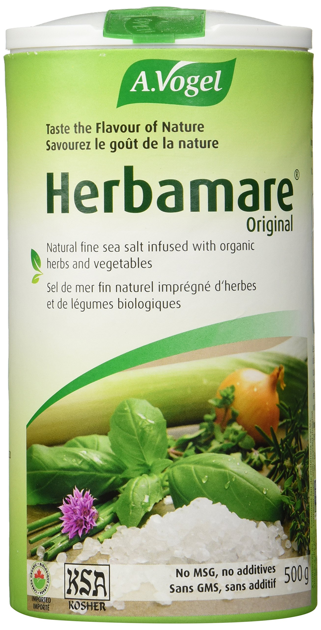 A. Vogel Herbamare Original Sea Salt, 500 g