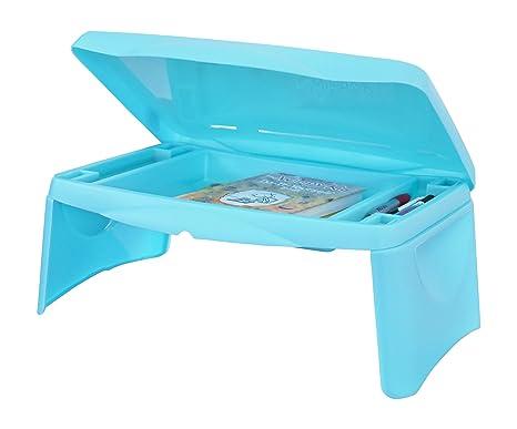 Beau Lap Desk For Kids   Folding Lap Desk With Storage 17x11u0026quot;   Aqua Blue  Color