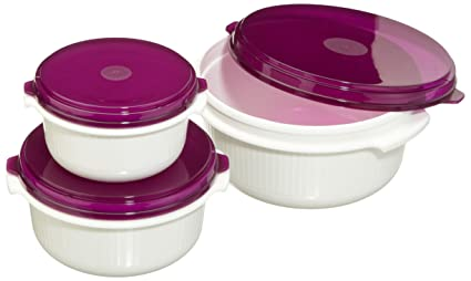 tapa de colores aleatorios Recipiente para microondas Emsa Micro Family 1 litro