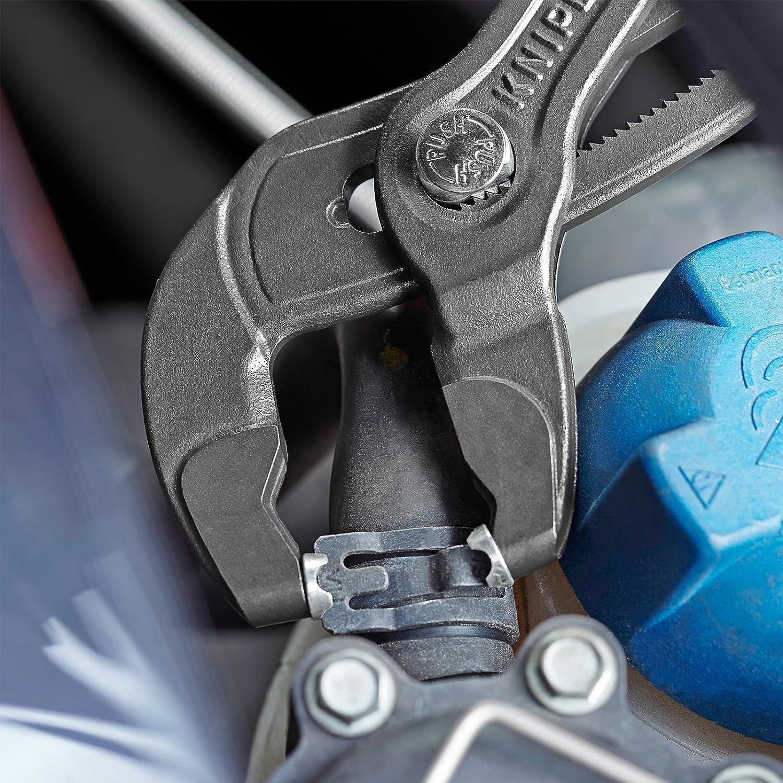 KNIPEX 85 51 250 A - alicate para abrazaderas con elementos universales giratorios 250 mm: Amazon.es: Bricolaje y herramientas