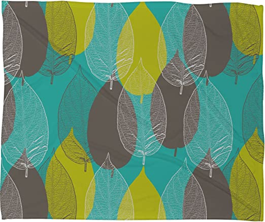 Deny Designs Aimee St Hill Spring 2 Fleece Throw Blanket 60 x 80