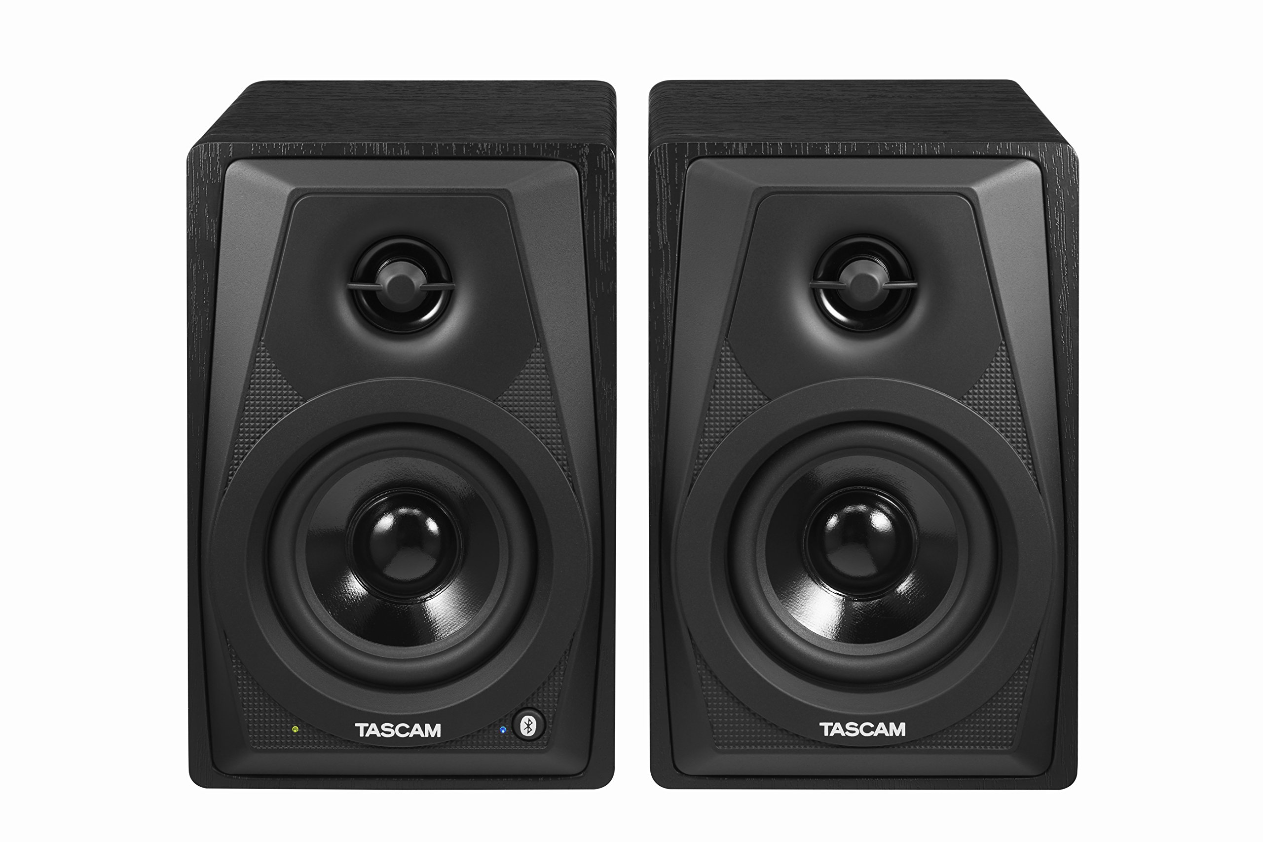 Tascam VL-S3BT 2-Way Powered Desktop Monitor Speakers With Bluetooth Wireless, 14 Watts