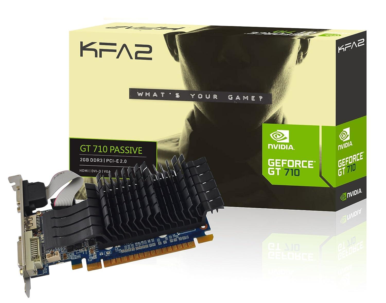 KFA2 71 gph4hx8bpk GeForce gt710 2 GB PCIe Tarjeta gráfica ...