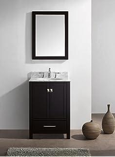 Exceptional Virtu USA GS 50024 WMSQ ES Caroline Avenue 24 Inch Bathroom Vanity