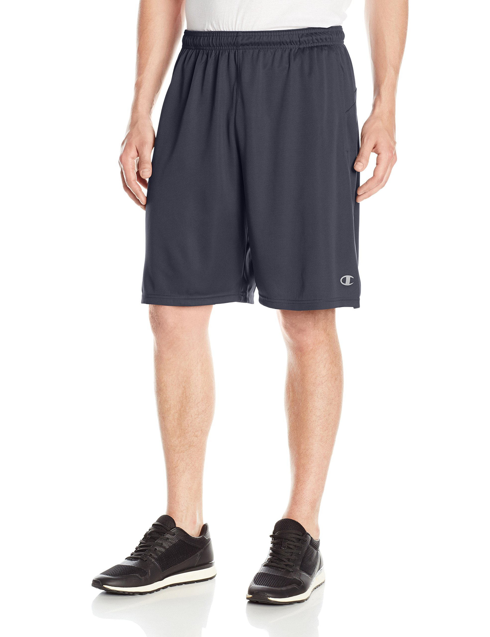 Champion Men's Double Dry Select Short, Navy, XL