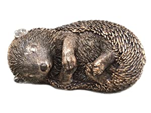 Curled Up Hedgehog Sleeping Outdoor Garden Statue Figurine Yard Decoration 10087