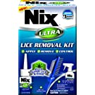 Nix Ultra Lice Removal Kit | Kills Super Lice & Eggs | Includes Lice Removal Comb and Control Spray
