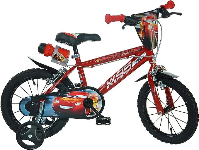Dino Bikes 416U-CS3 Cars 3 - Bicicleta de 12 Pulgadas: Amazon.es: Juguetes y juegos