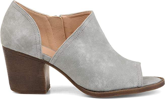 Brinley Co. Womens D'Orsay Peep Toe