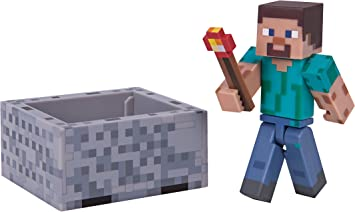 T0d 6022578 Minecraft Personaggio Creeper in plastica Alto 15 cm