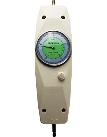 Force Gauge,Knoweasy NK-500 Mechanical Analog Push Pull Gauge
