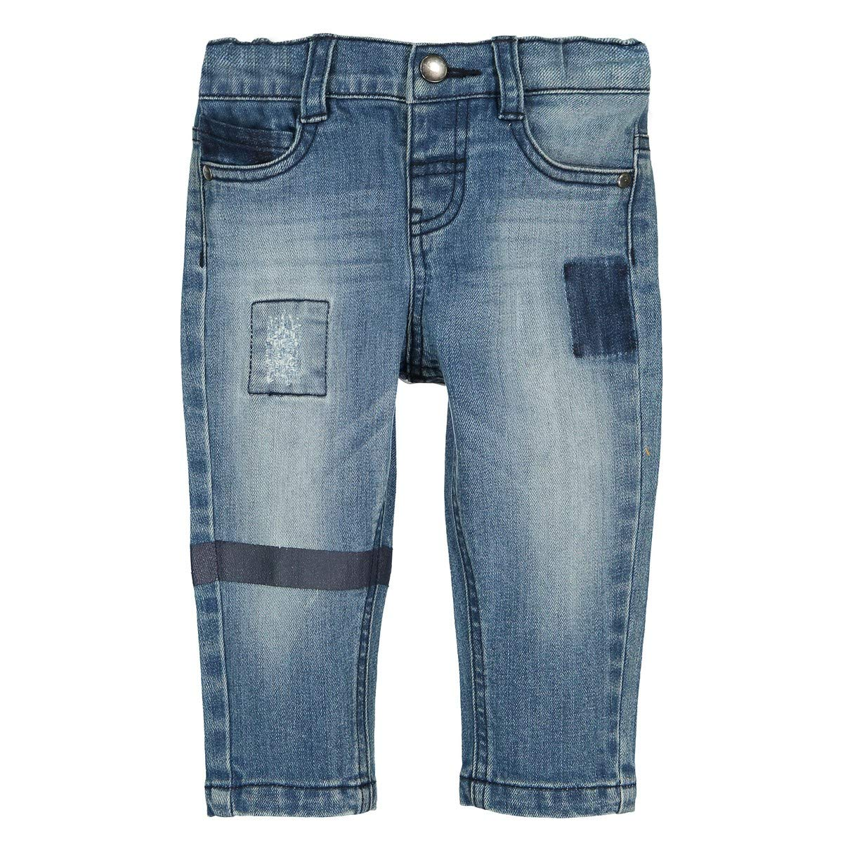 La Redoute Collections Big Boys Used Straight Jeans 1 Month-3 Years
