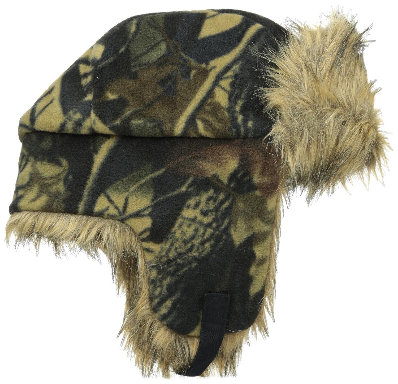 39ed68973642ef Quietwear Men's Fleece Trapper Hat, Adventure Brown, One Size at Amazon  Men's Clothing store: